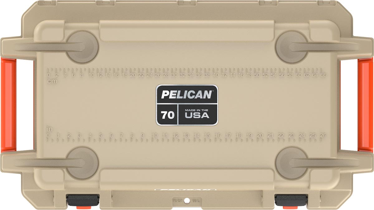 pelican made in usa coolers 70qt ice chest
