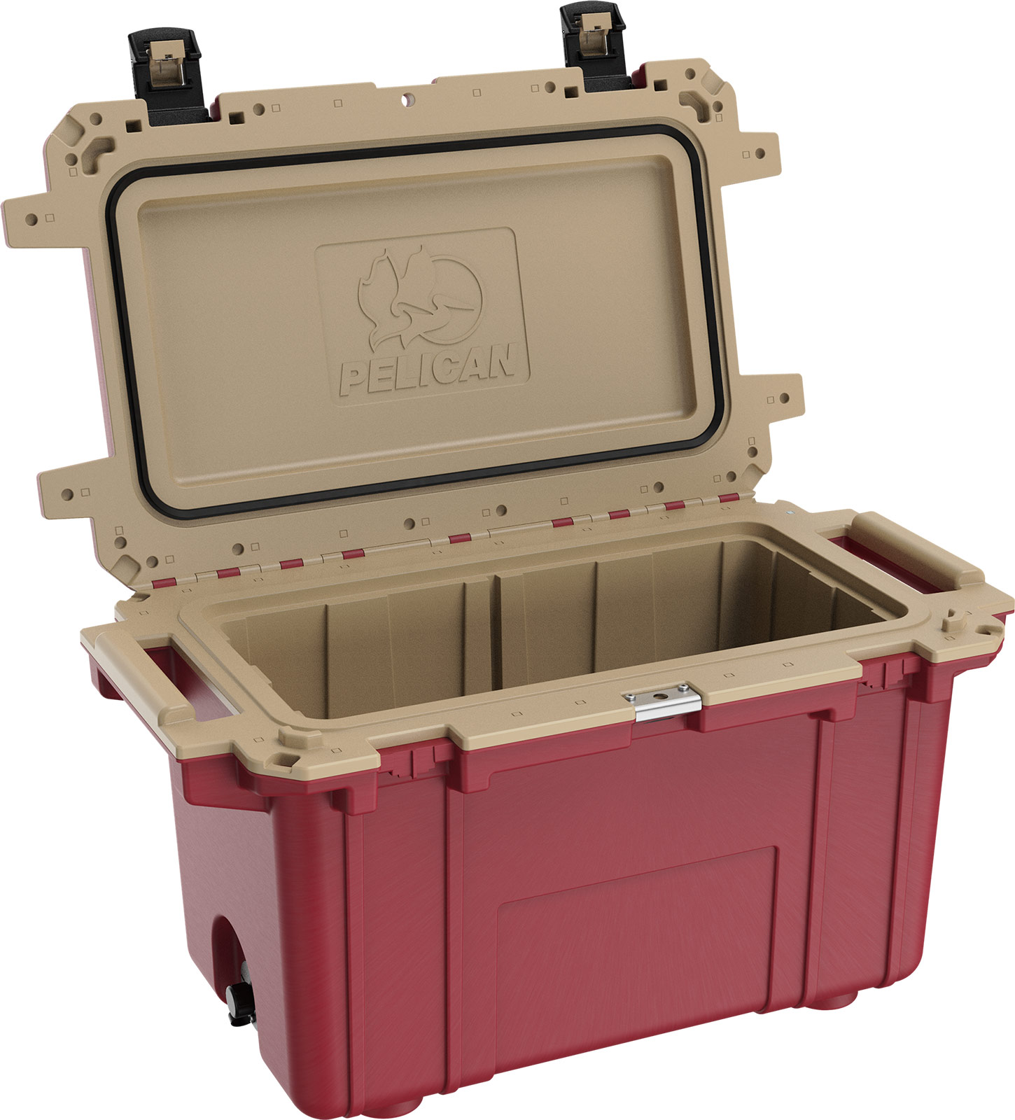 pelican overland collection red 70qt cooler