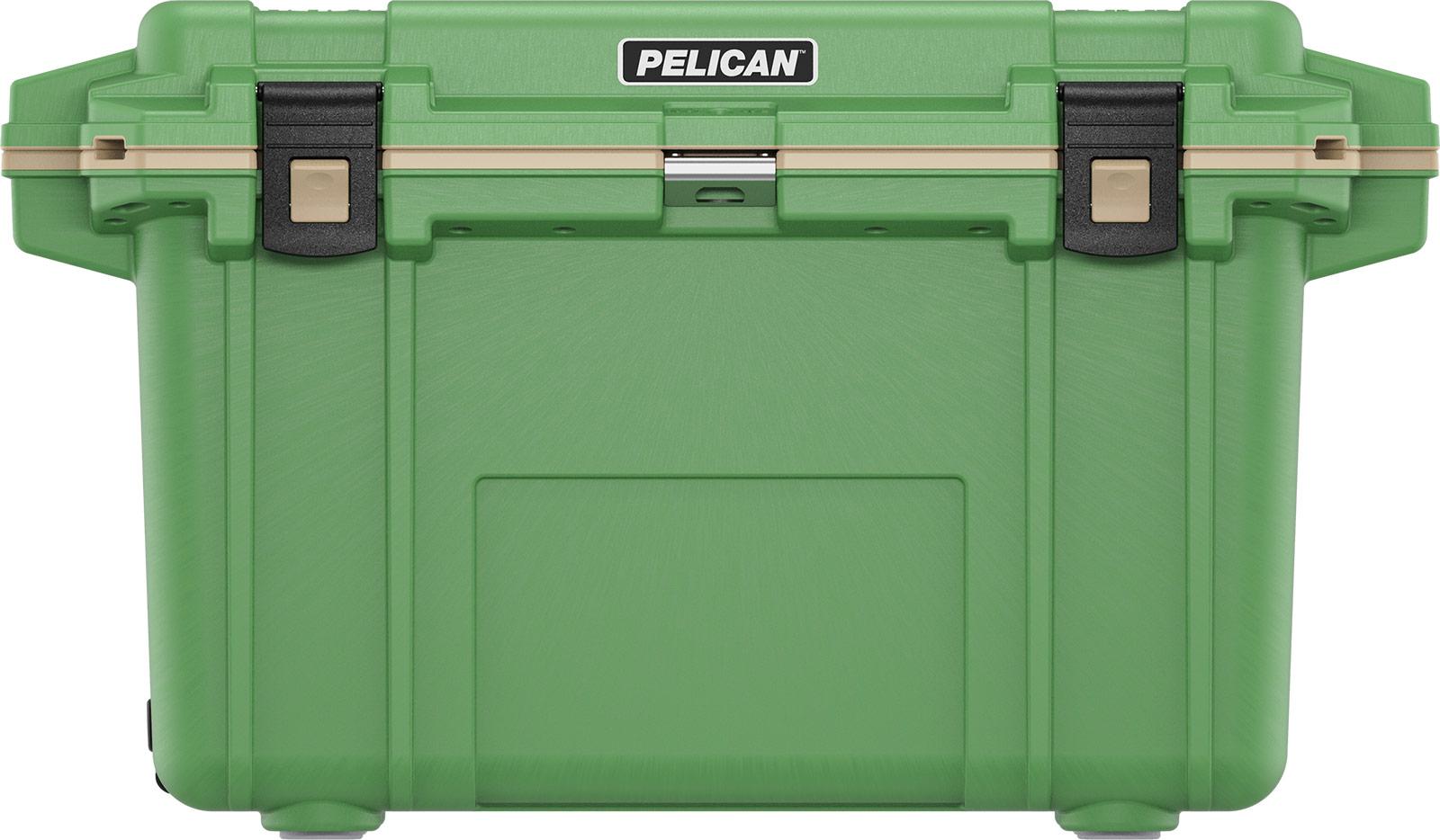pelican overland coolers 70qt green cooler