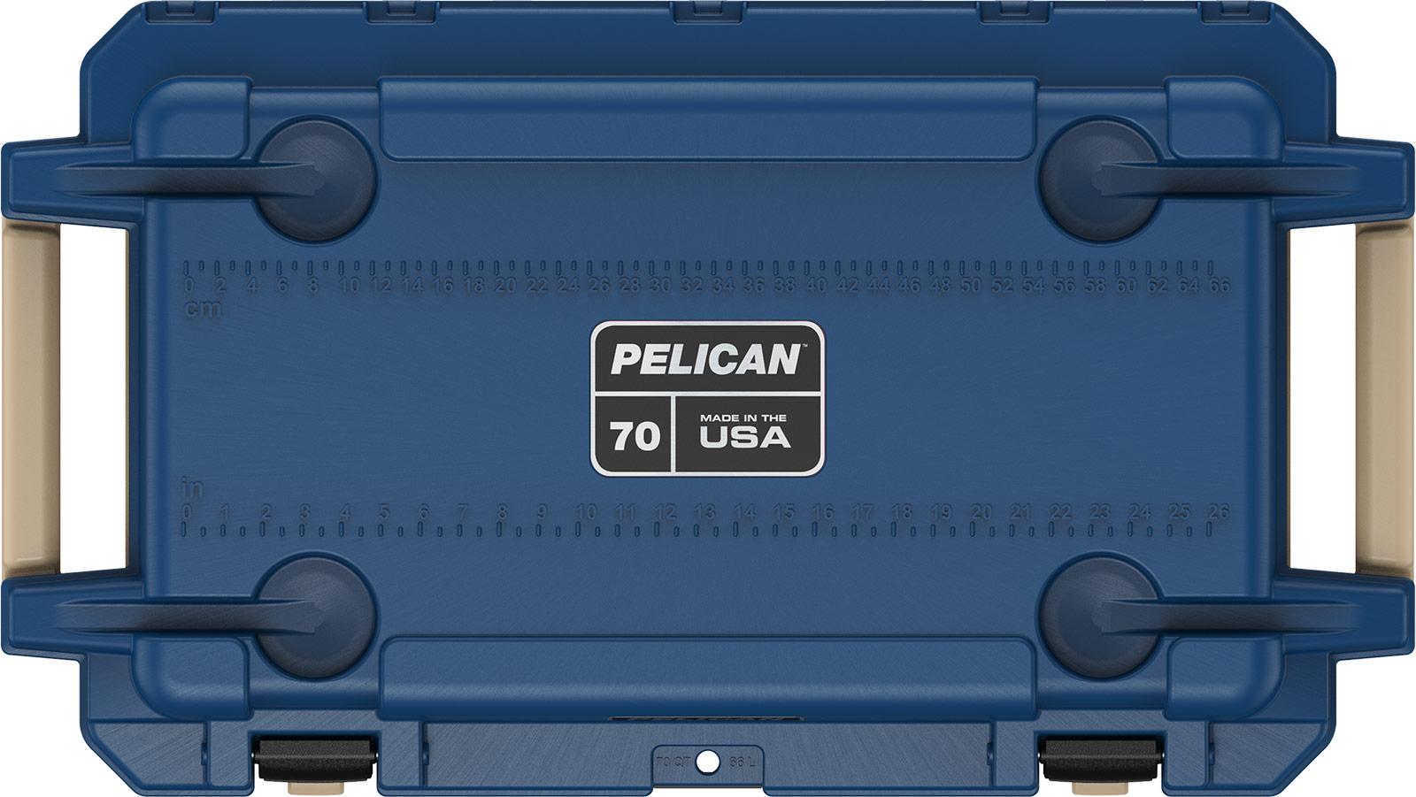 pelican pacific blue 70qt cooler overland