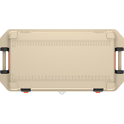 pelican tan outdoor cooler hunting ice chest