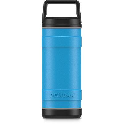 pelican 18oz stainless steel bottle blue