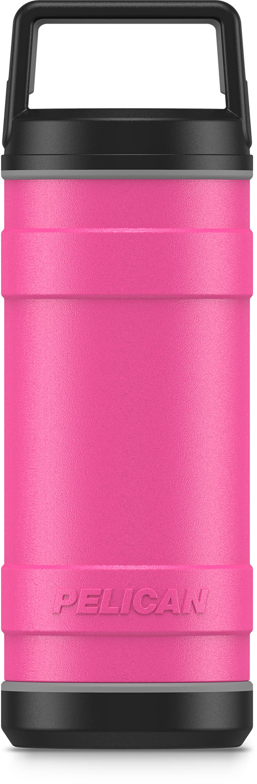pelican pink 18oz stainess steel bottle
