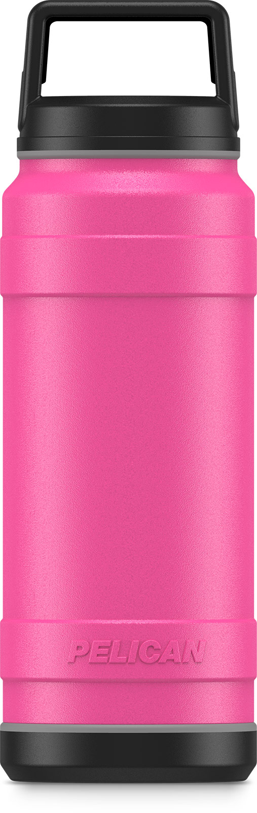 pelican pink 32oz stainess steel bottle