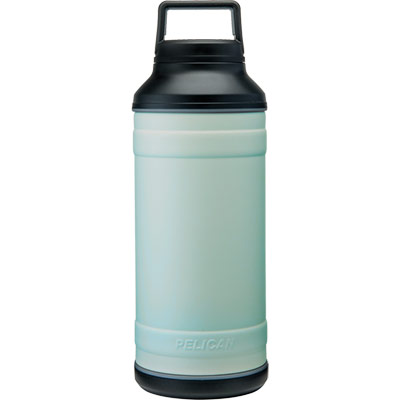 pelican seafoam bottle 64oz travel bottles