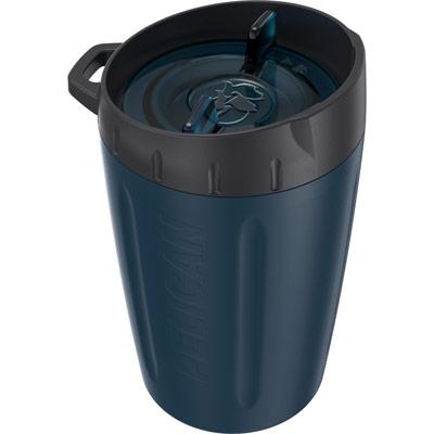 pelican blue leakproof lid tumbler