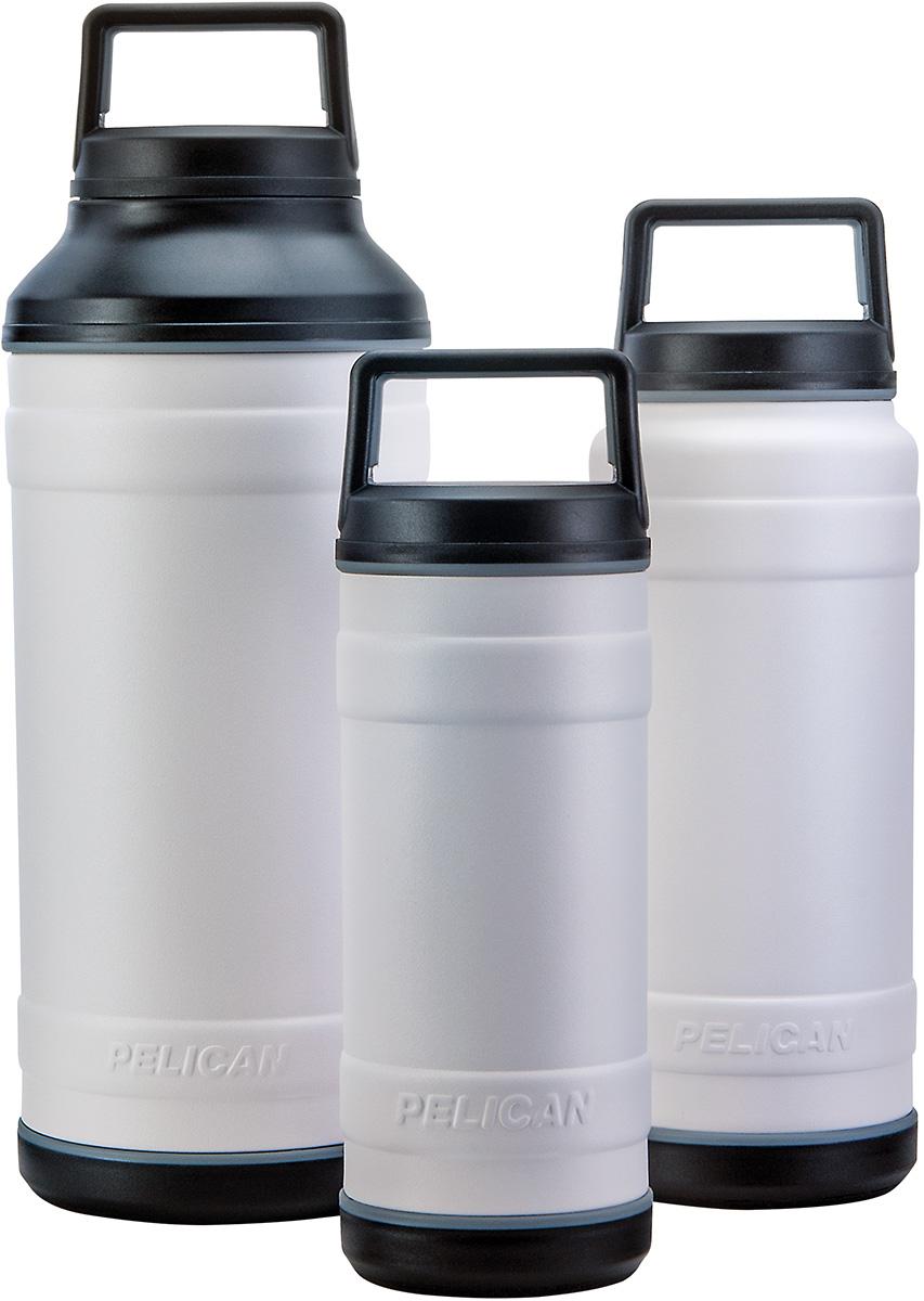 pelican white bottles insulated travel bottle