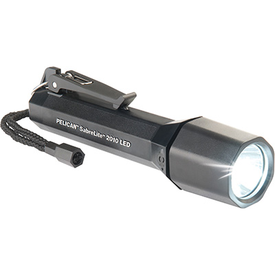 pelican 2010 black sabre safety flashlight