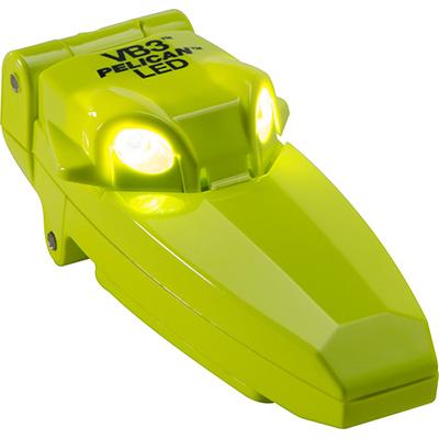 pelican 2220 best yellow clipon shirt led light