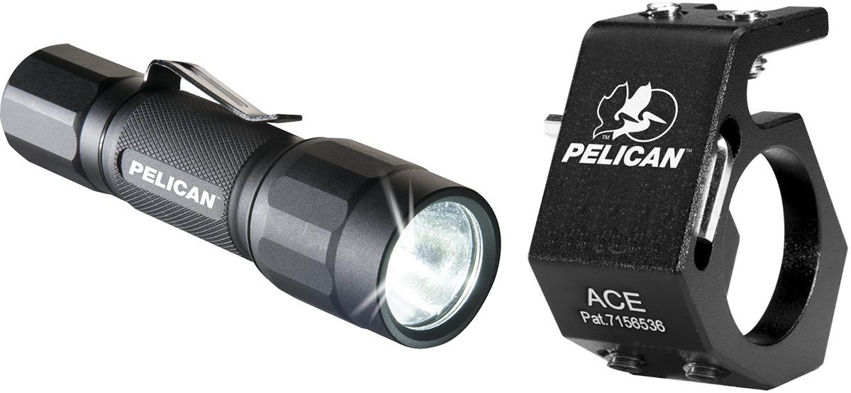 pelican 2350 2350combo flashlight ace helmet holder