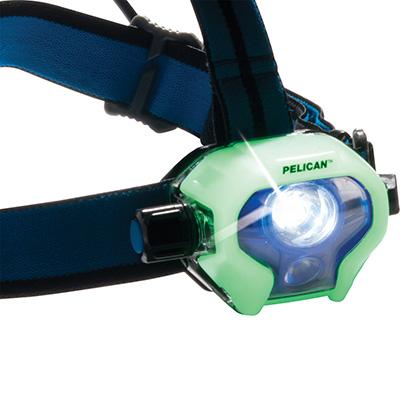 pelican glow in dark rechargeable headlamp