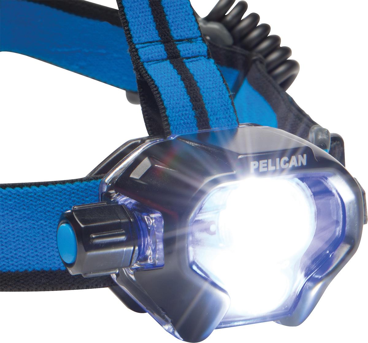 pelican super bright high lumens headlamp
