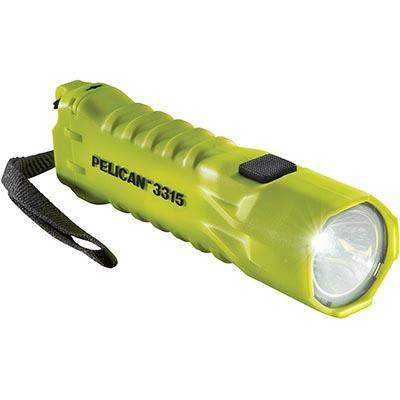 buy pelican flashlight 3315 bright yellow safety light