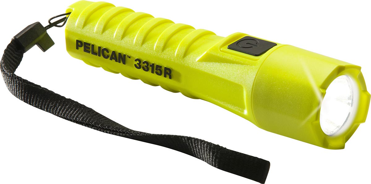 pelican 3315r rechargeable safety flashlight