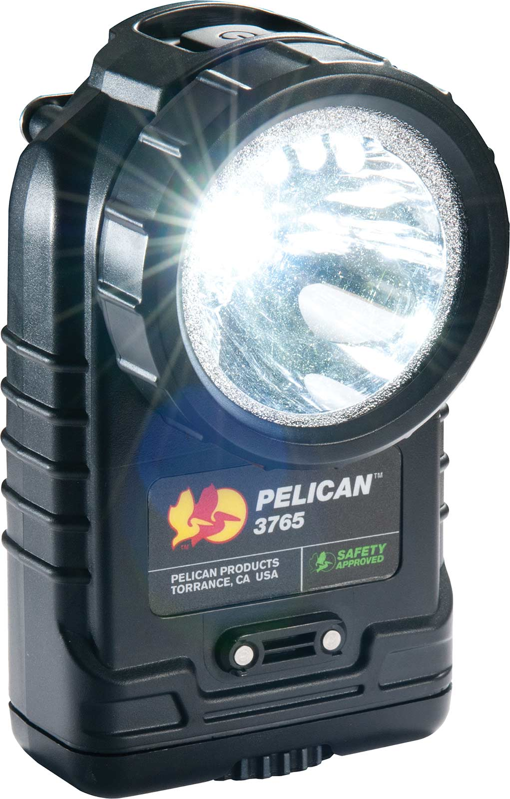 pelican 3765 black safety approved light