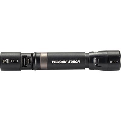 pelican 5050r rechargeable tactical spot flashlight