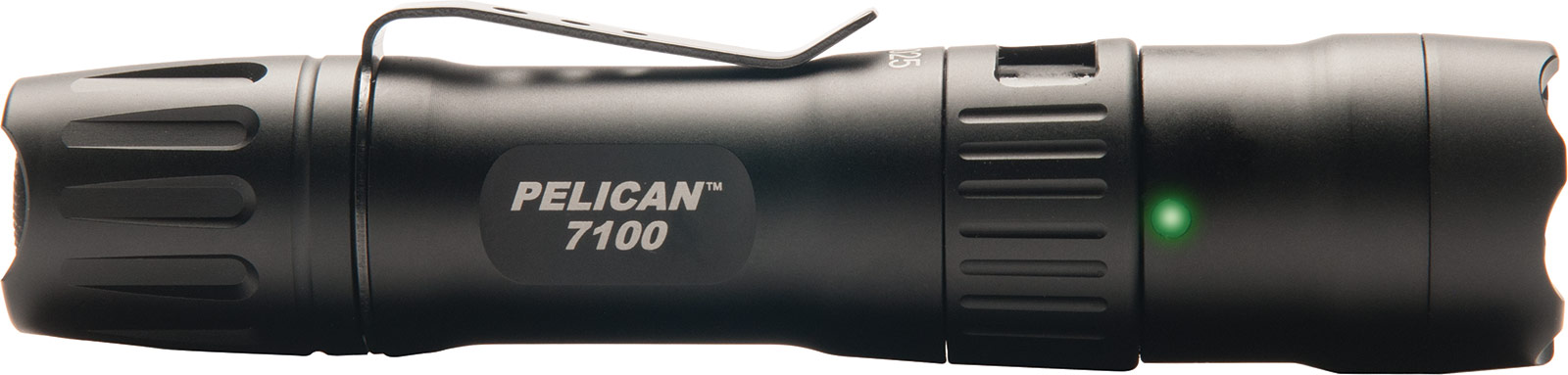 pelican 7100 black usb rechargeable flashlight