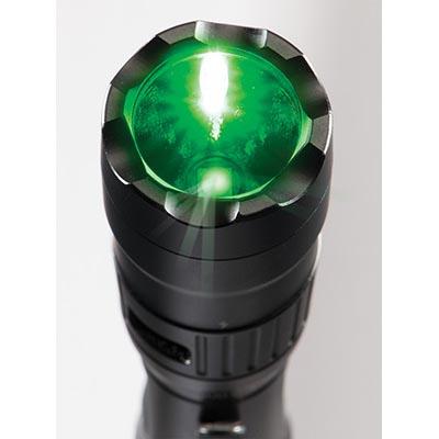 pelican led green light flashlight tactical