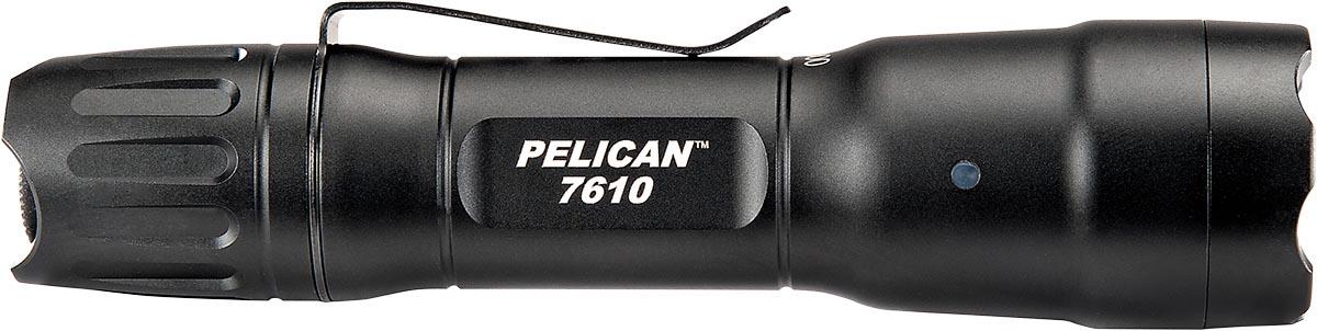 pelican tactical light led flashlight 7610