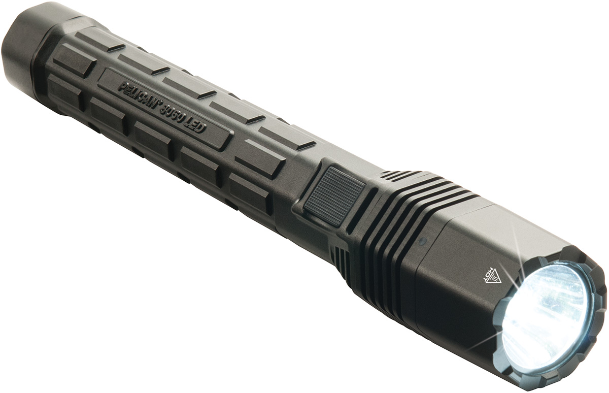 pelican led tactical police issue flashlight