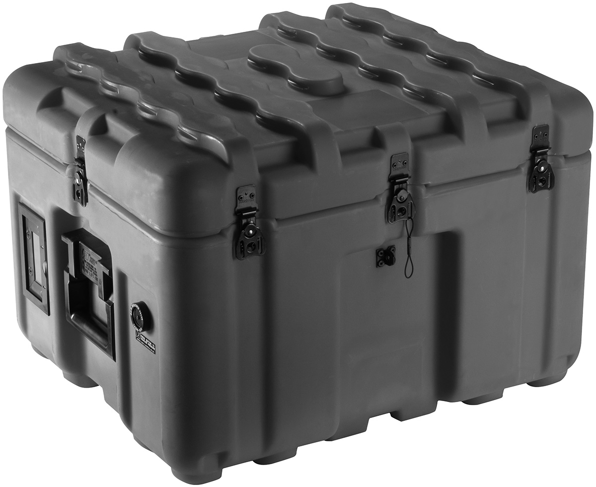 pelican hard plastic shipping pallet container