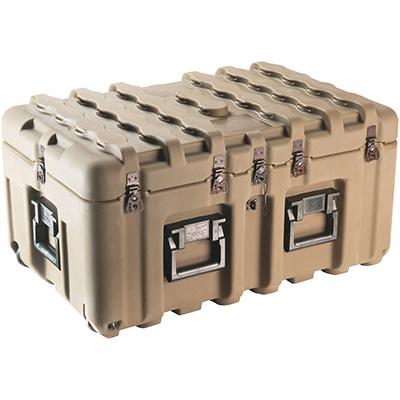 pelican peli products isp IS2917-1103 hard plastic pallet transport case
