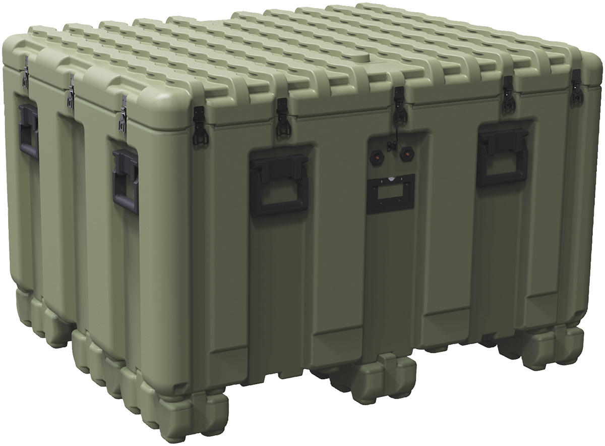 pelican large plastic shipping pallet box