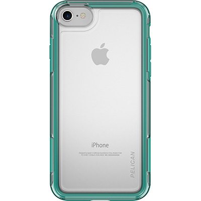 pelican clear iphone 7 case green cases