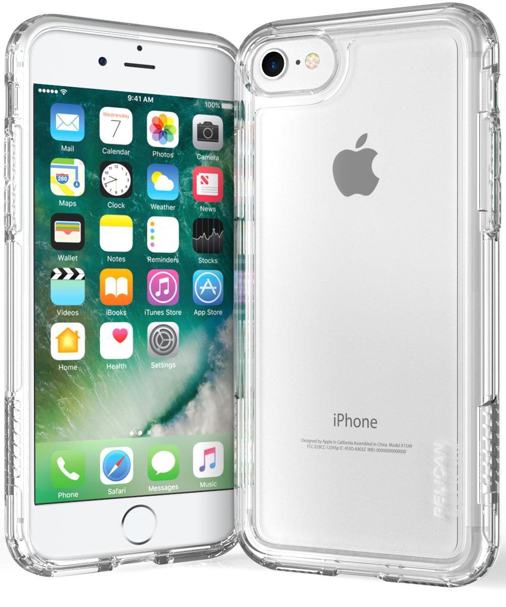 pelican clear iphone 7 phone case adventurer