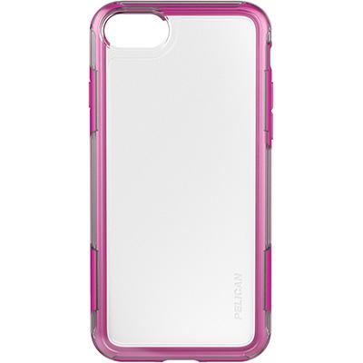 pelucan clear pink iphone 7 case adventurer