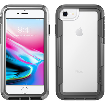 pelican c35030 voyager clear iphone 8 case
