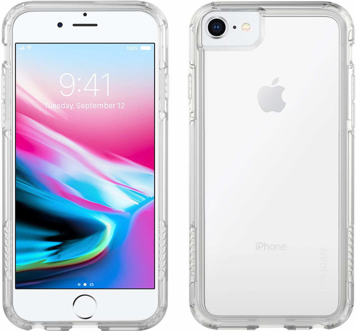 pelican c35100 apple iphone 8 case clear