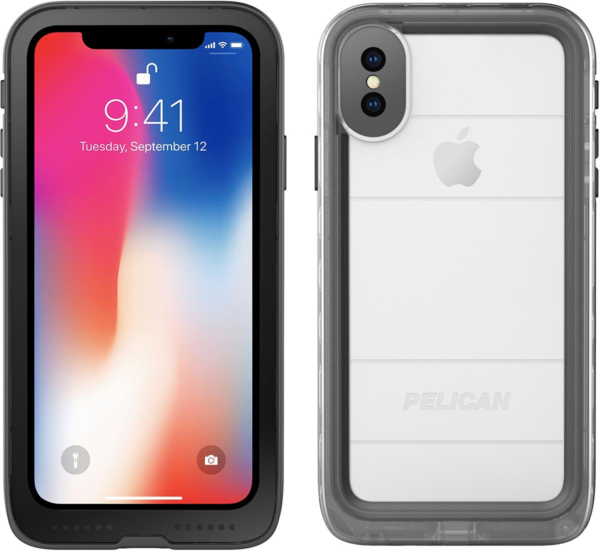 pelican iphone x waterproof case marine