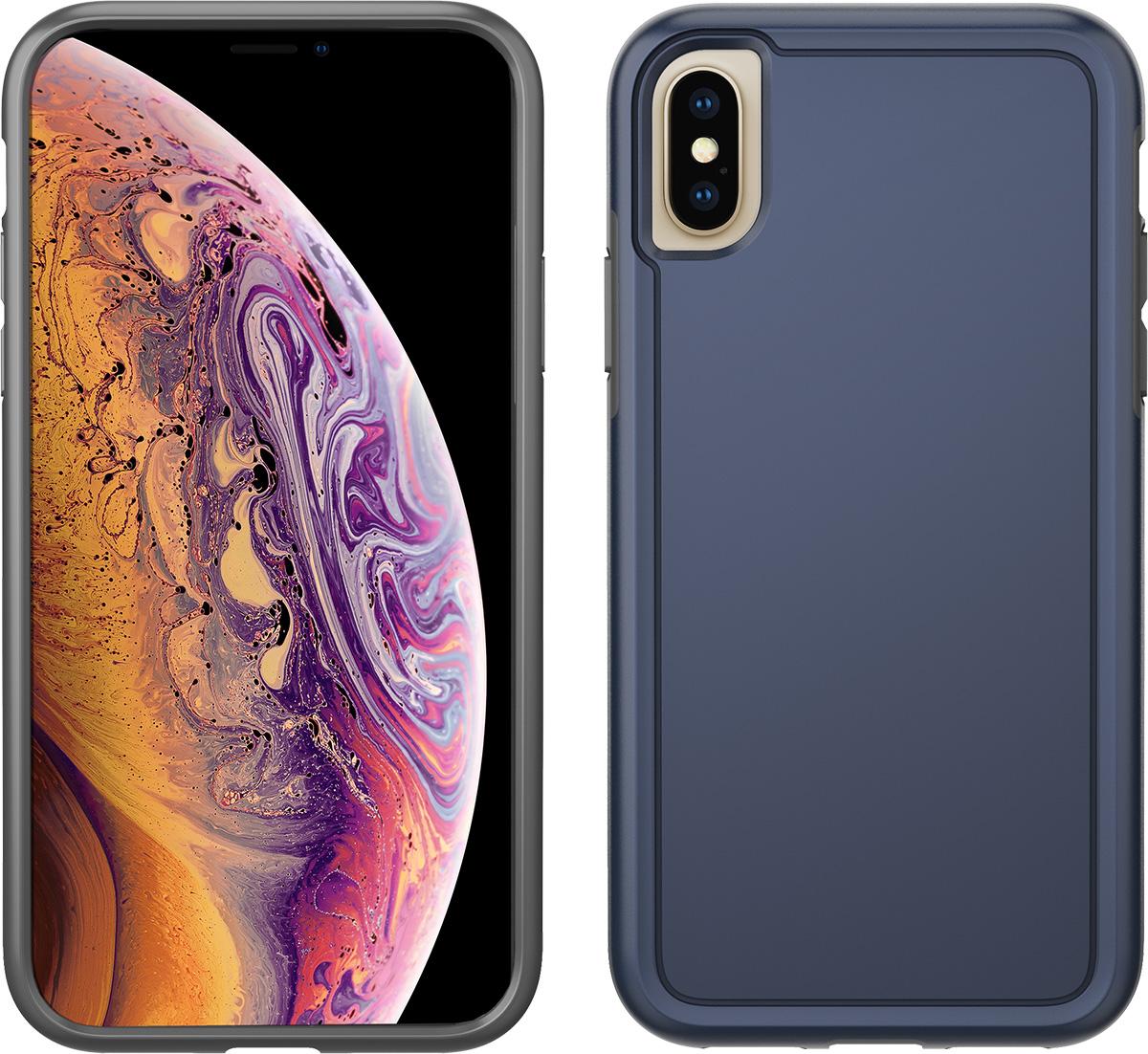 pelican apple iphone xs navy blue adventurer case