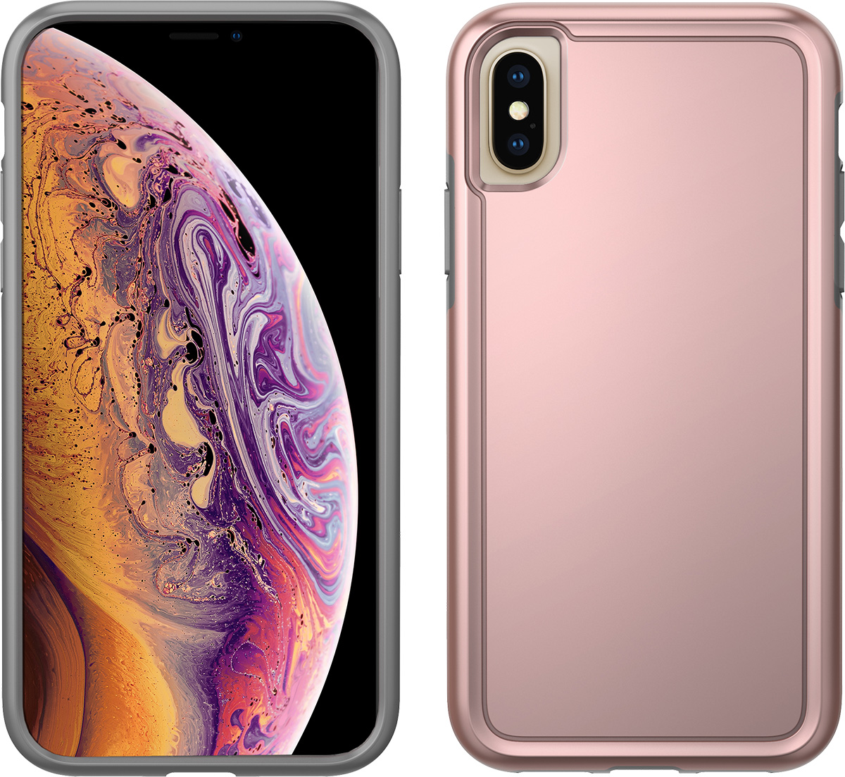 pelican apple iphone xs rose gold adventurer case