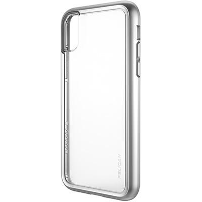 pelican iphone c37100 metallic silver case
