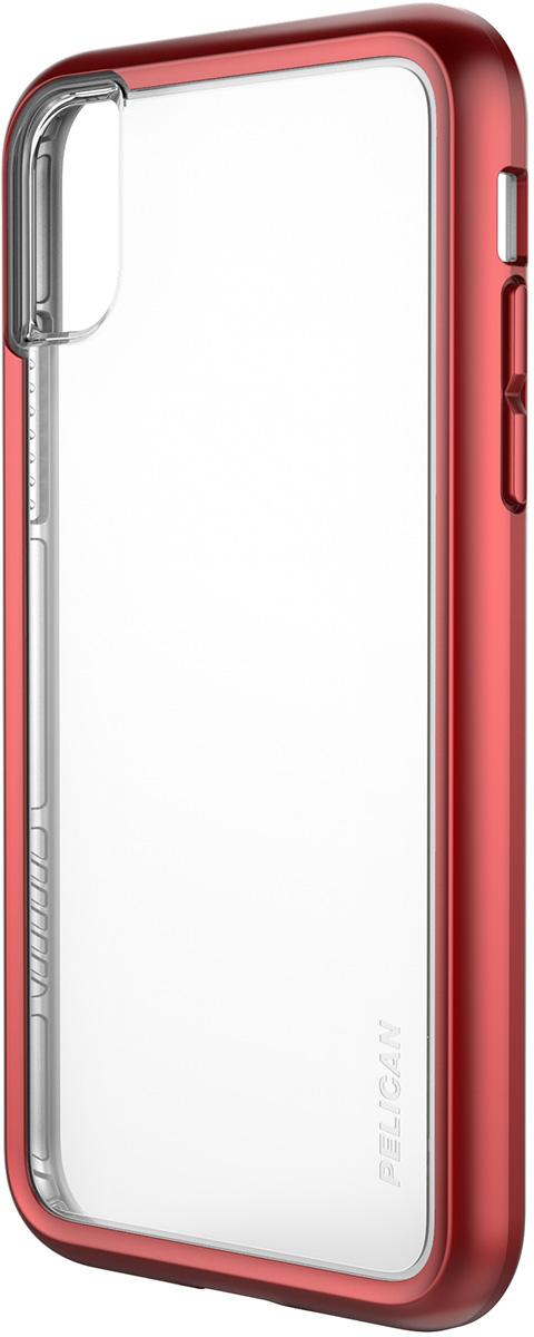 pelican iphone metallic red protection