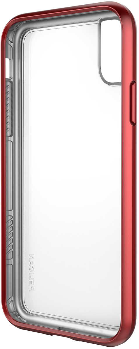 pelican iphone sleek red protection case
