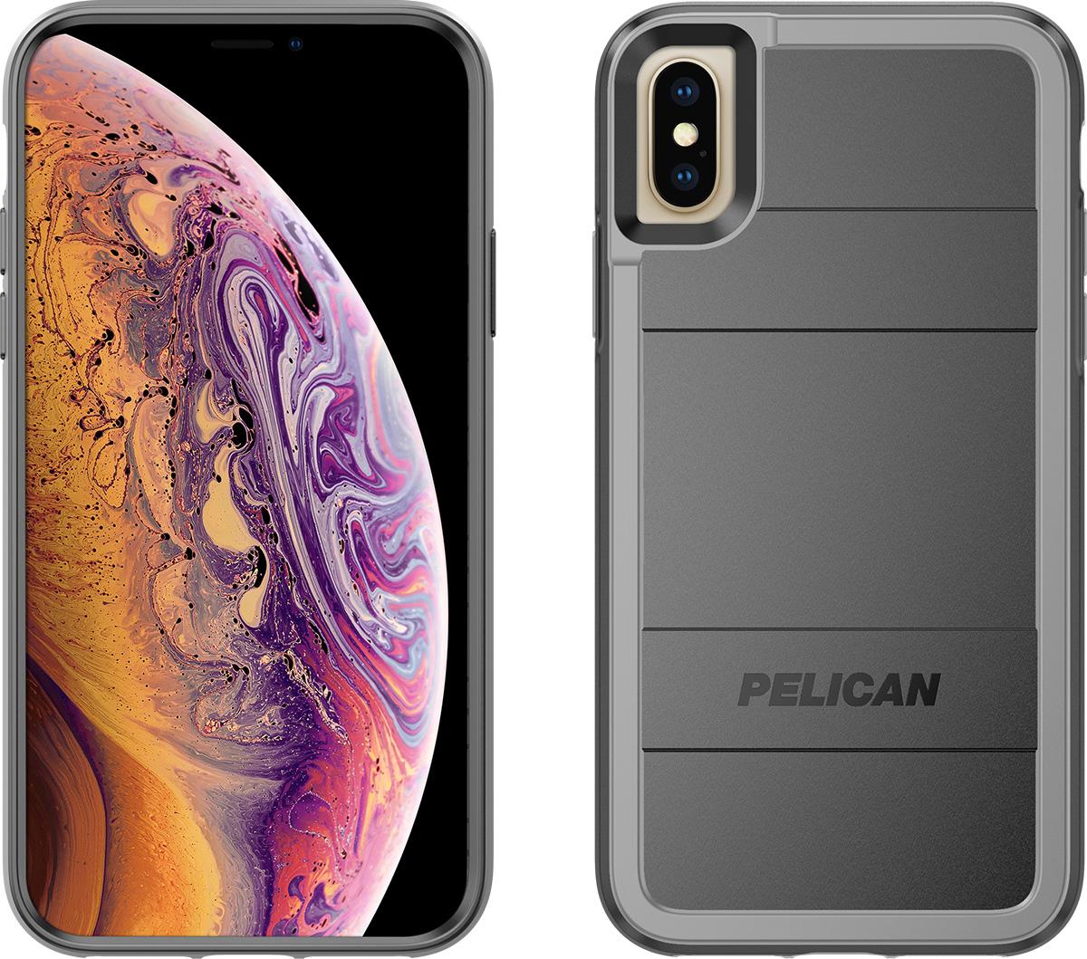 pelican iphone xs protector magnetic mount