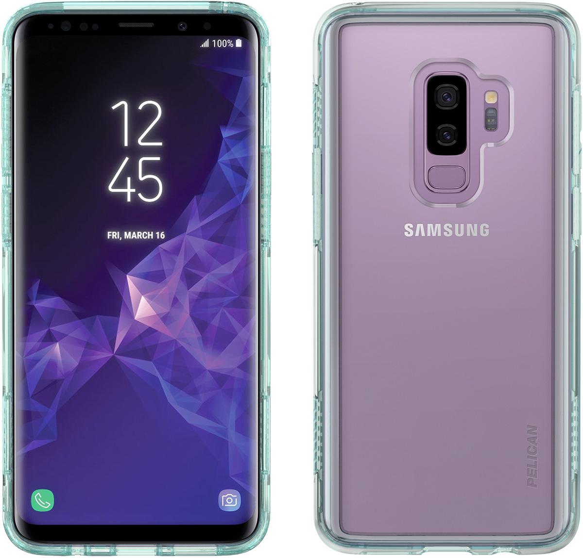 pelican galaxy s9 plus phone case green