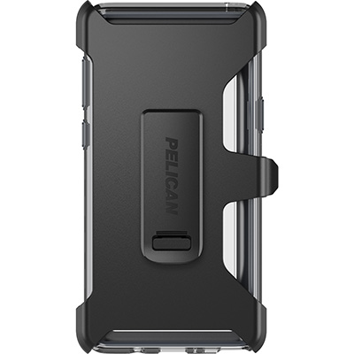 pelican samsung note9 clear phone case holster