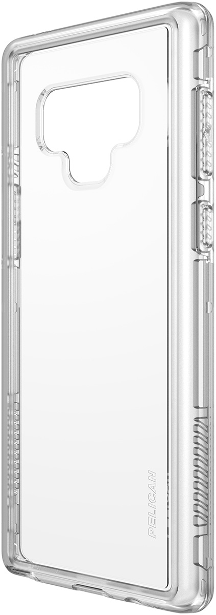 pelican samsung note9 clear dual layer phone case