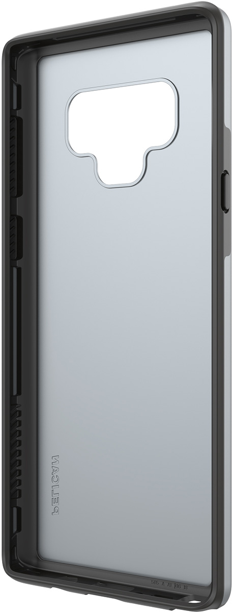 pelican samsung note9 silver dual layer phone case