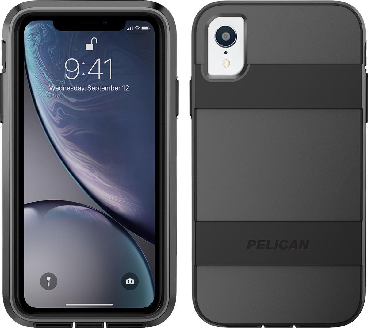 pelican apple iphone c42030 voyager black phone case