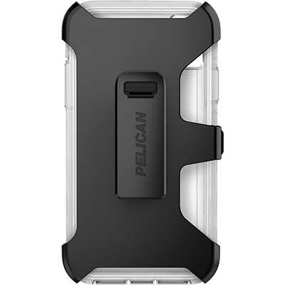 pelican apple iphone c42030 voyager clear phone case holster