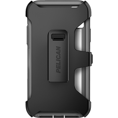 pelican apple iphone c42030 voyager grey phone case holster