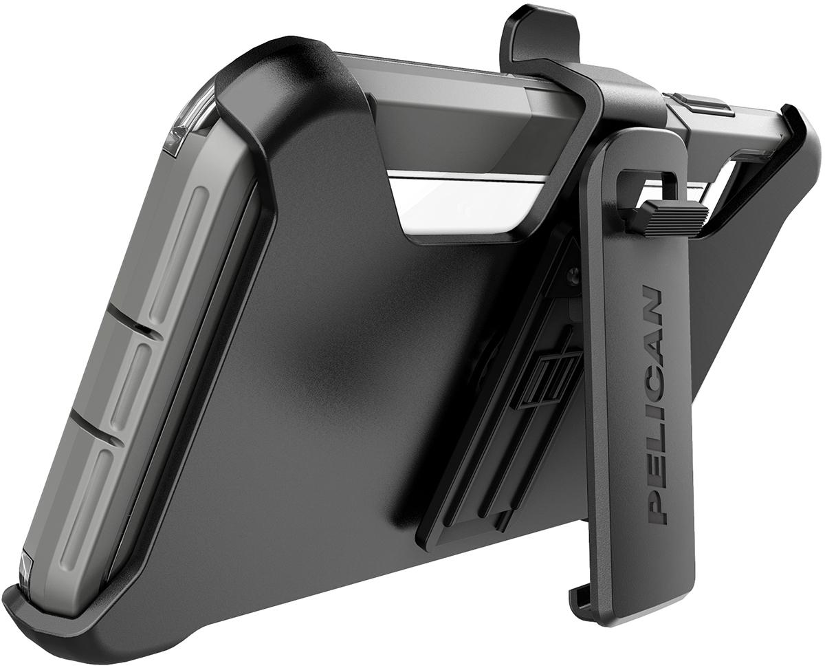 pelican apple iphone c42030 voyager grey phone case kickstand