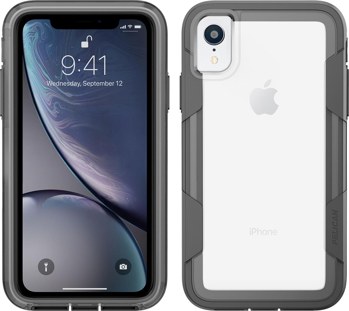 pelican apple iphone c42030 voyager grey phone case