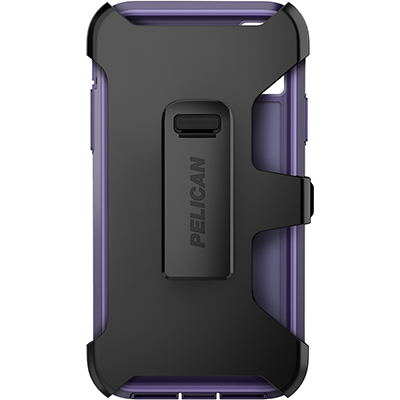 pelican apple iphone c42030 voyager purple phone case holster