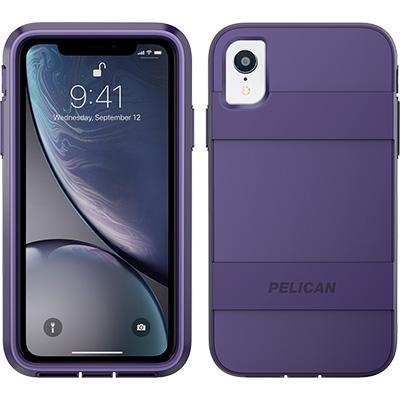pelican apple iphone c42030 voyager purple phone case